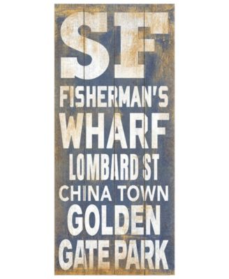 ArteHouse Wall Art, SF Destination Sign