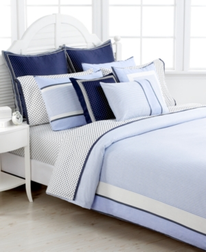 Tommy Hilfiger Bedding, Hilfiger Stripe European Sham Bedding