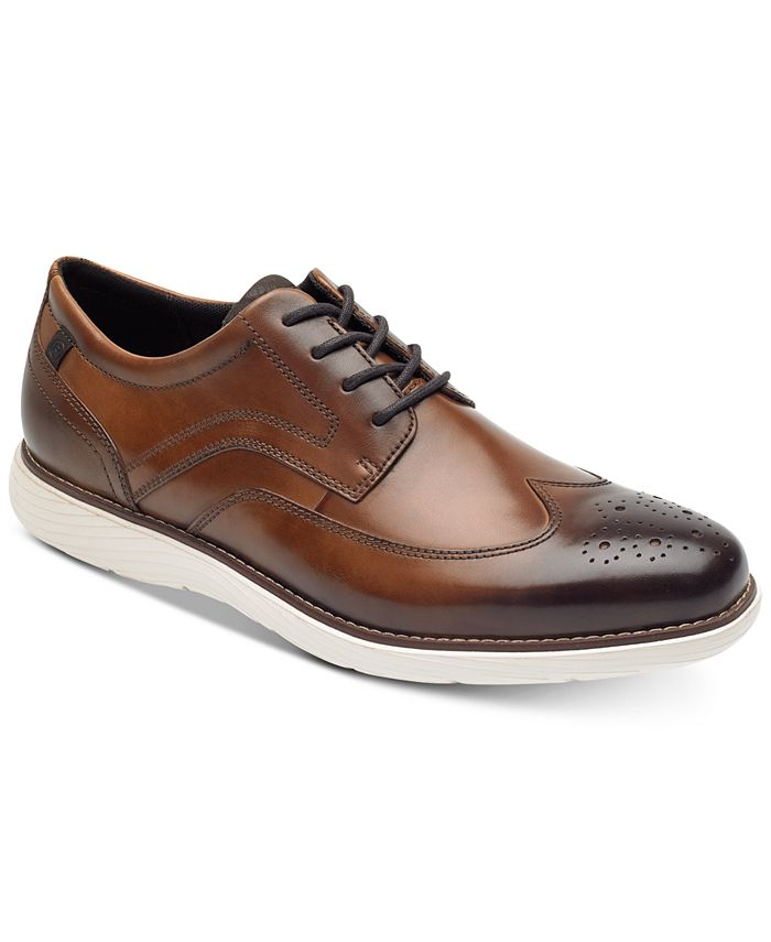 Rockport - Men's Garett Leather Wingtip Oxfords