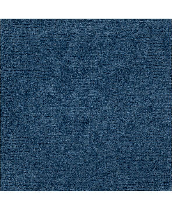 """Surya Mystique M-330 Dark Blue 18"""" Square Swatch"""