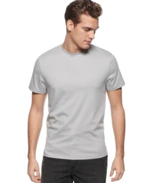 Calvin Klein Shirt, Crew Neck Liquid T Shirt