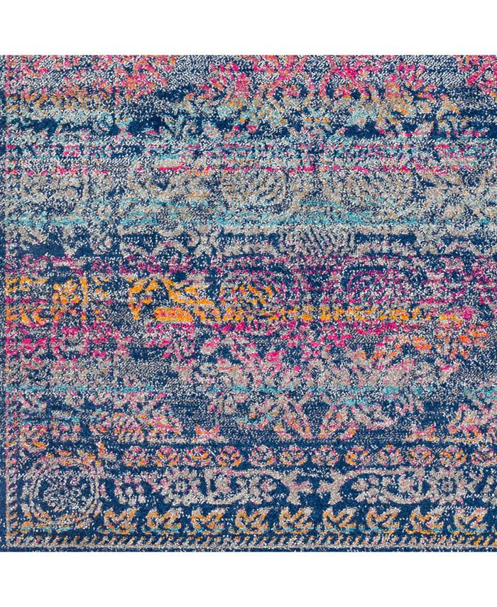 "Surya - Harput HAP-1054 Dark Blue 18"" Square Swatch"