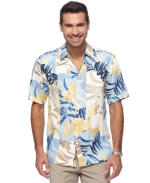 Cubavera Shirt, Short Sleeve Tropical