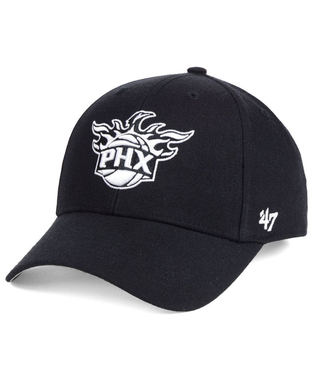 '47 Brand Phoenix Suns Black White MVP Cap & Reviews - Sports Fan Shop By Lids - Men - Macy's
