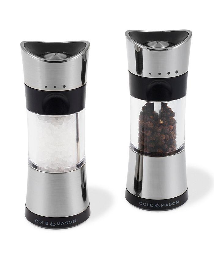 "Cole & Mason - Horsham Chrome 6"" Salt & Pepper Mill Gift Set"