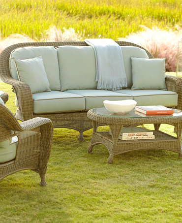 Commacys Outdoor Furniture : Sandy Cove Outdoor Seating Sets & Pieces - Furniture - Macys