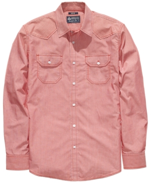 American Rag Shirt, EDV Pinstripe Shirt