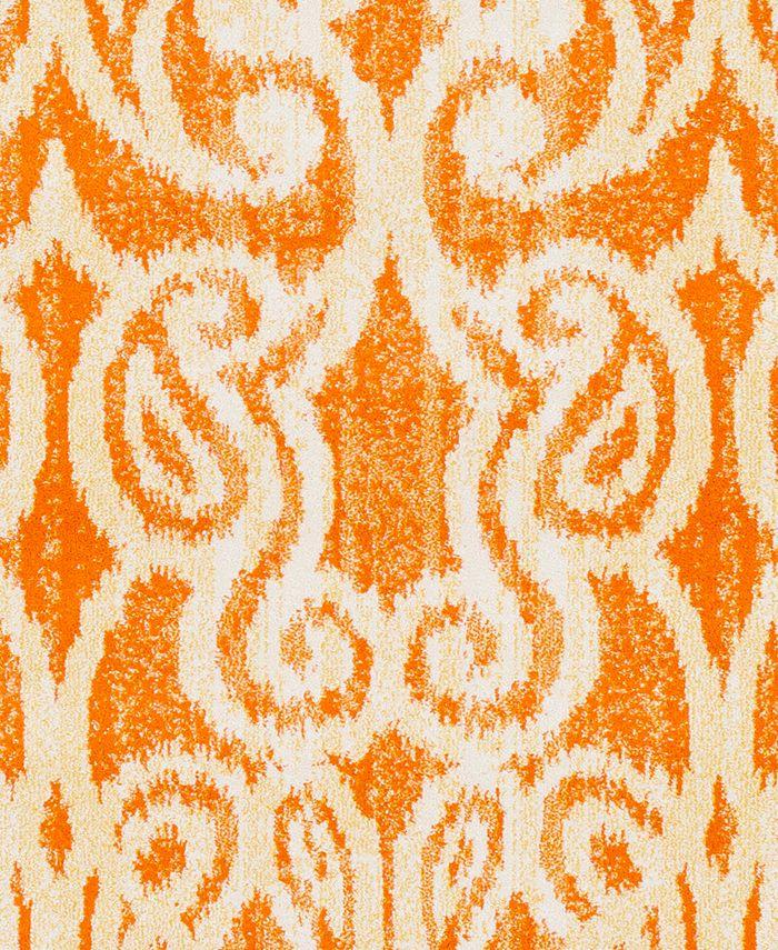 "Surya - Aberdine ABE-8020 Bright Orange 18"" Square Swatch"