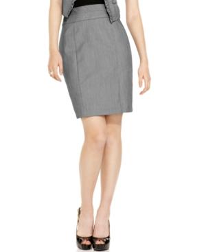 BCX Skirt, Empire Waist Pencil