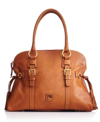 Dooney & Bourke Handbag Florentine Domed Buckle Satchel