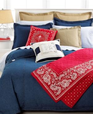 Lauren by Ralph Lauren University Denim Comforter, Full/Queen Bedding