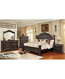Jeanie Distressed 3-Drawer Nightstand