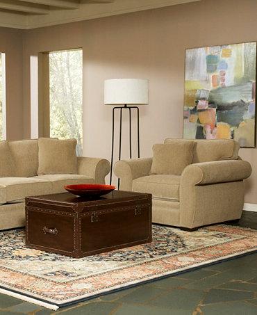 Devon Fabric Sofa Living Room Furniture Collection Furniture Macy 39 S