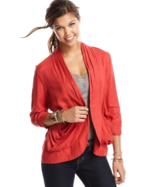 American Rag Blazer, Three Quarter Sleeve Draped