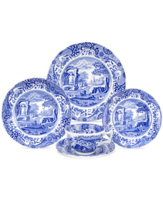 "Spode ""Blue Italian"" 5-Piece Place Setting"