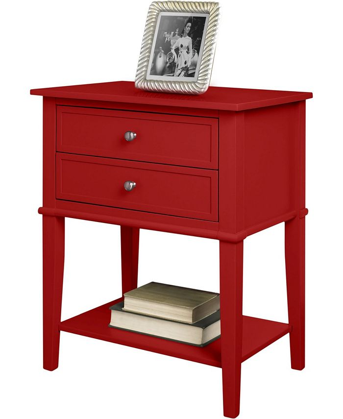 Ameriwood Home - Cottage Hil 2 Drawer Accent Table