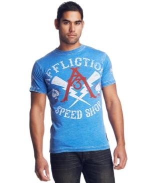 Affliction T Shirt, Speed Shop 73 T Shirt