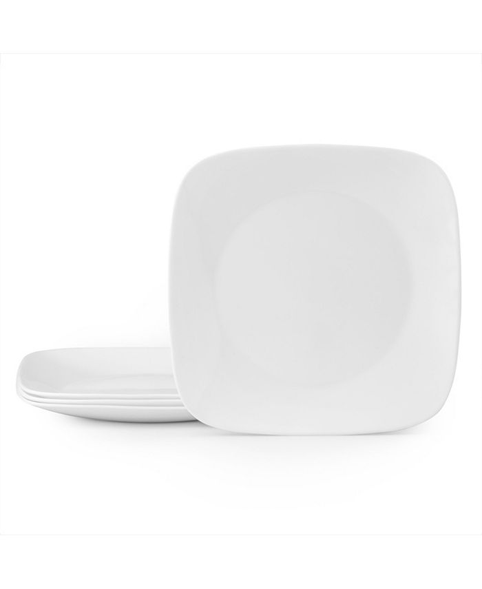 Corelle - Vivid White 4pc Dinner Plate