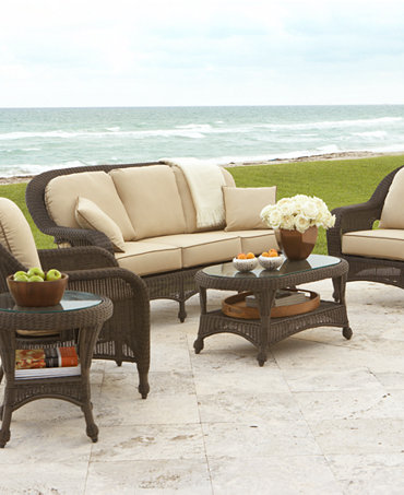 Commacys Outdoor Furniture : ... Outdoor Patio Furniture Seating Sets & Pieces - Furniture - Macys
