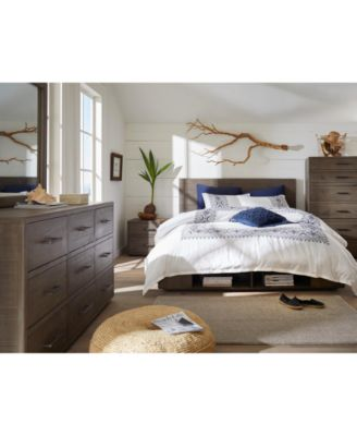 Brandon Storage Platform Bedroom Furniture, 3-Pc. Set (California King Bed, Dresser & Nightstand), Created for Macy's
