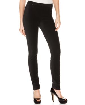 ECI Pants, Elastic Waistband Corduroy Leggings