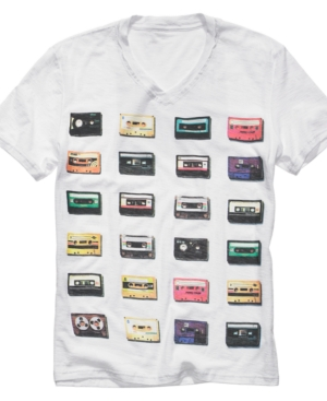 Bar III T Shirt, Tapes Graphic T Shirt