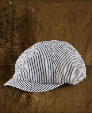 Denim & Supply Ralph Lauren Hat, Striped Cotton Twill Engineer