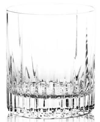 "Mikasa ""Arctic Lights"" Crystal Double Old-Fashioned Glass"