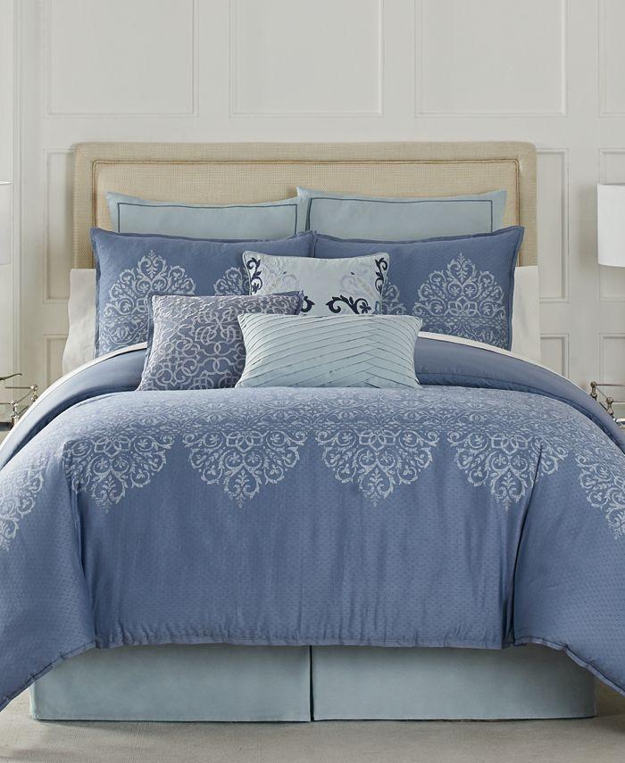 Eva Longoria Black Label Lacework Bedding Collection Reviews Bedding Collections Bed Bath Macy S