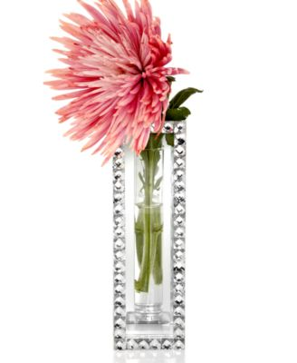 Mirrored Sparkle Bud Vase