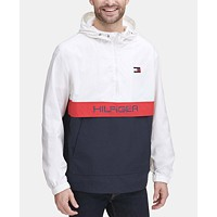 Deals on Tommy Hilfiger Mens Taslan Popover Jacket