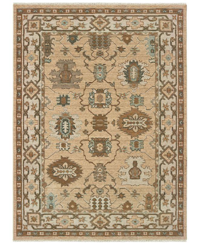 Oriental Weavers Anatolia 530W3 Sand/Ivory 2' x 3' Area Rug