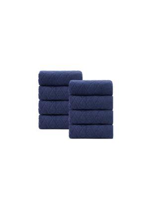 Gracious 8-Pc. Wash Towels Turkish Cotton Towel Set