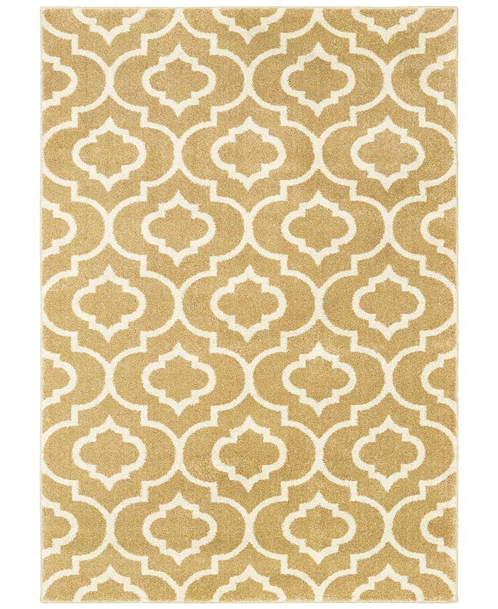 Oriental Weavers - Carson 9672E Gold/Ivory 2' x 3' Area Rug