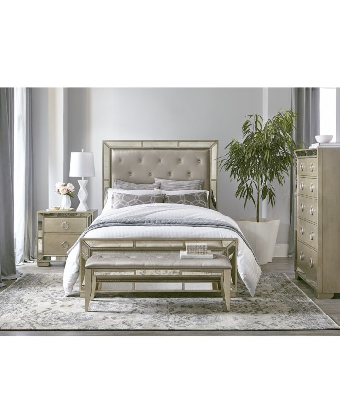 Furniture Ailey Queen Bed & Reviews - Furniture - Macy's