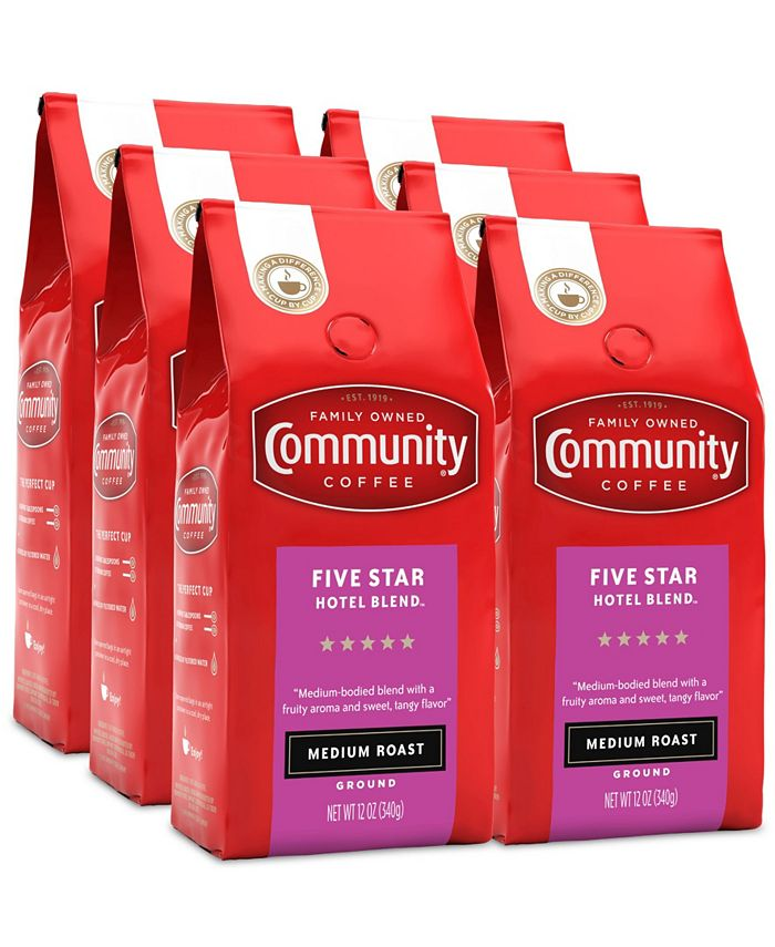Community Coffee - CS-6: 12 OZ 5 STR HTL BLD