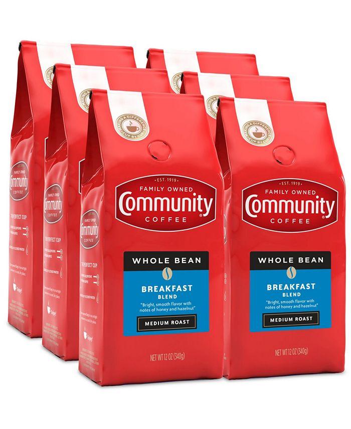 Community Coffee - CS-6: 12 OZ BRKFST BLND WB