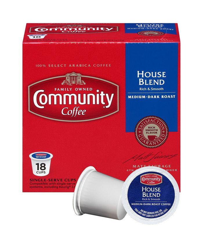 Community Coffee - CS-4: 18 CT SS CUPS HS BLD