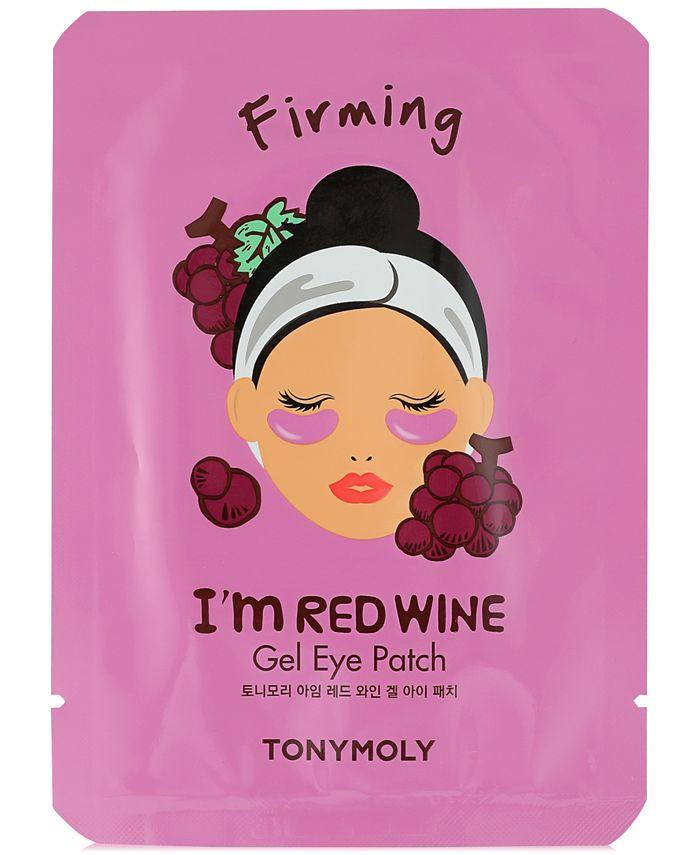 TONYMOLY - I'm Red Wine Gel Eye Patch