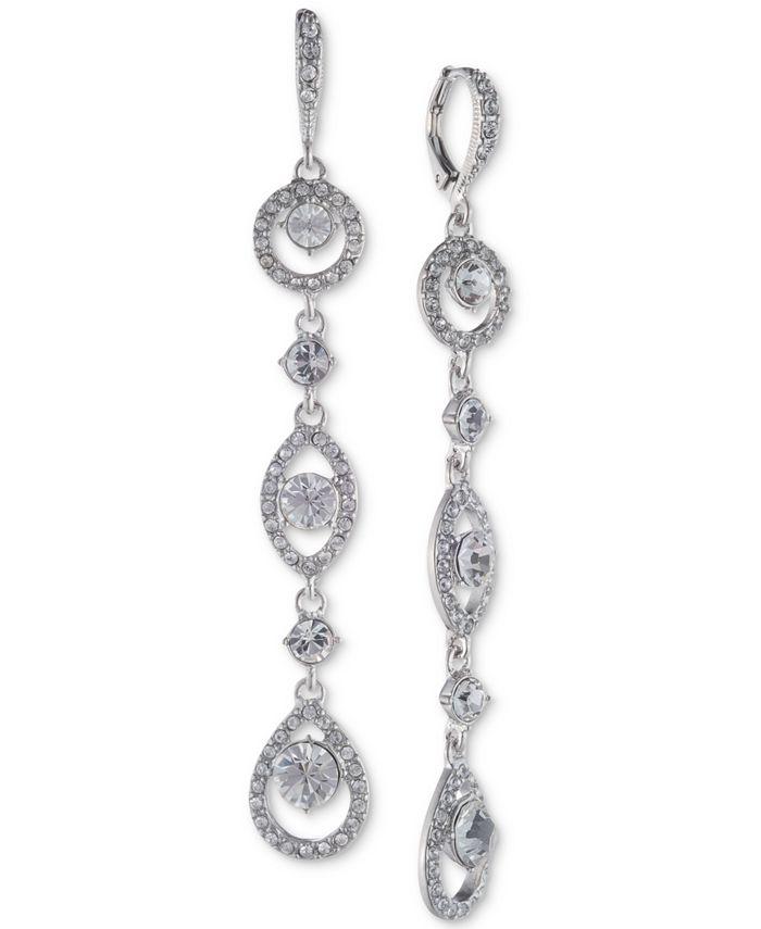 Givenchy - Crystal Linear Drop Earrings