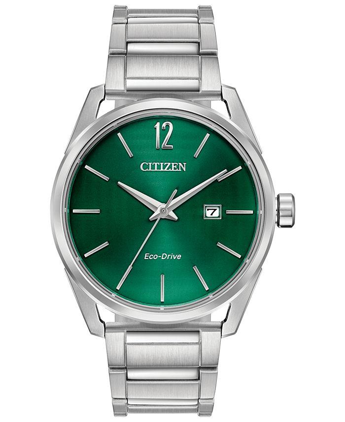 Citizen - Men's CTO Stainless Steel Bracelet Watch 42mm
