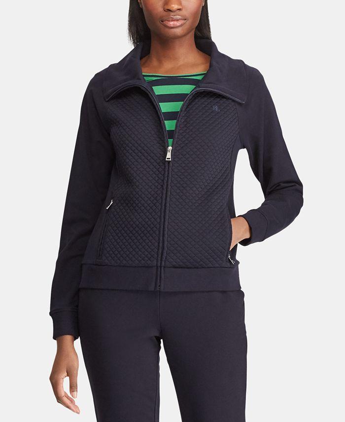 Lauren Ralph Lauren - Quilted Full-Zip Jacket