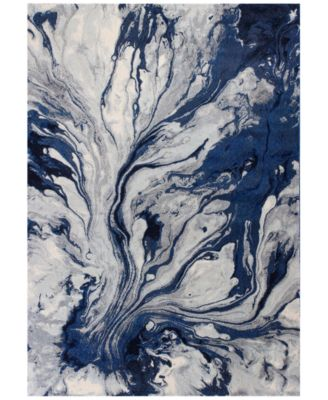 """Illusions Watercolors 3'3"""" x 4'11"""" Area Rug"""