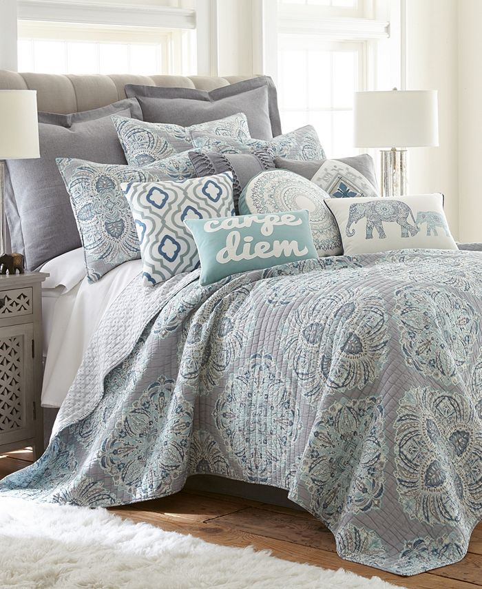Levtex Home Tania Twin Quilt Set Reviews Quilts Bedspreads Bed Bath Macy S