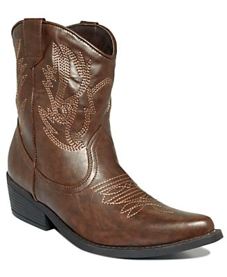 Rampage Shoes, Wagner Cowboy Booties