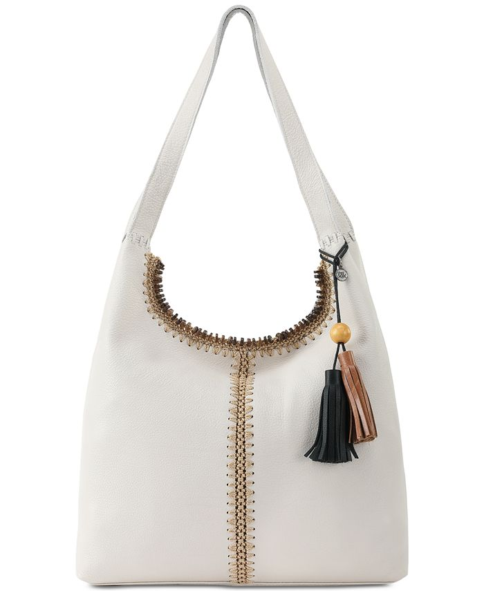 The Sak - Huntley Crochet-Trim Hobo