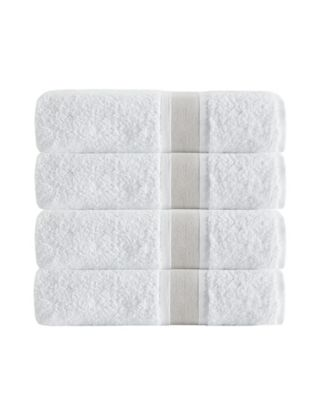 Unique 4-Pc. Turkish Cotton Bath Towel Set