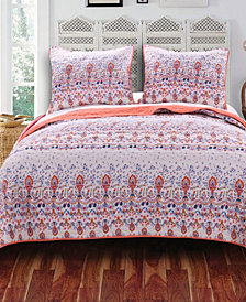 Amber Quilt Set, 3-Piece King