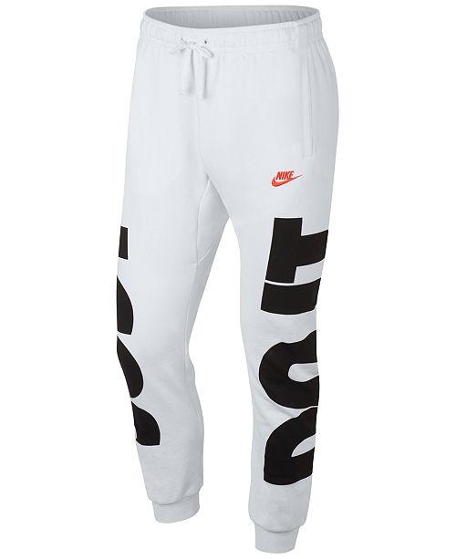 Nike Men's Sportswear Just Do It Joggers & Reviews - All ...