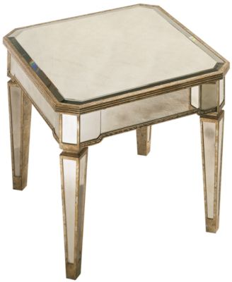 Marais Table Mirrored Square Cocktail Table Furniture Macy 39 S